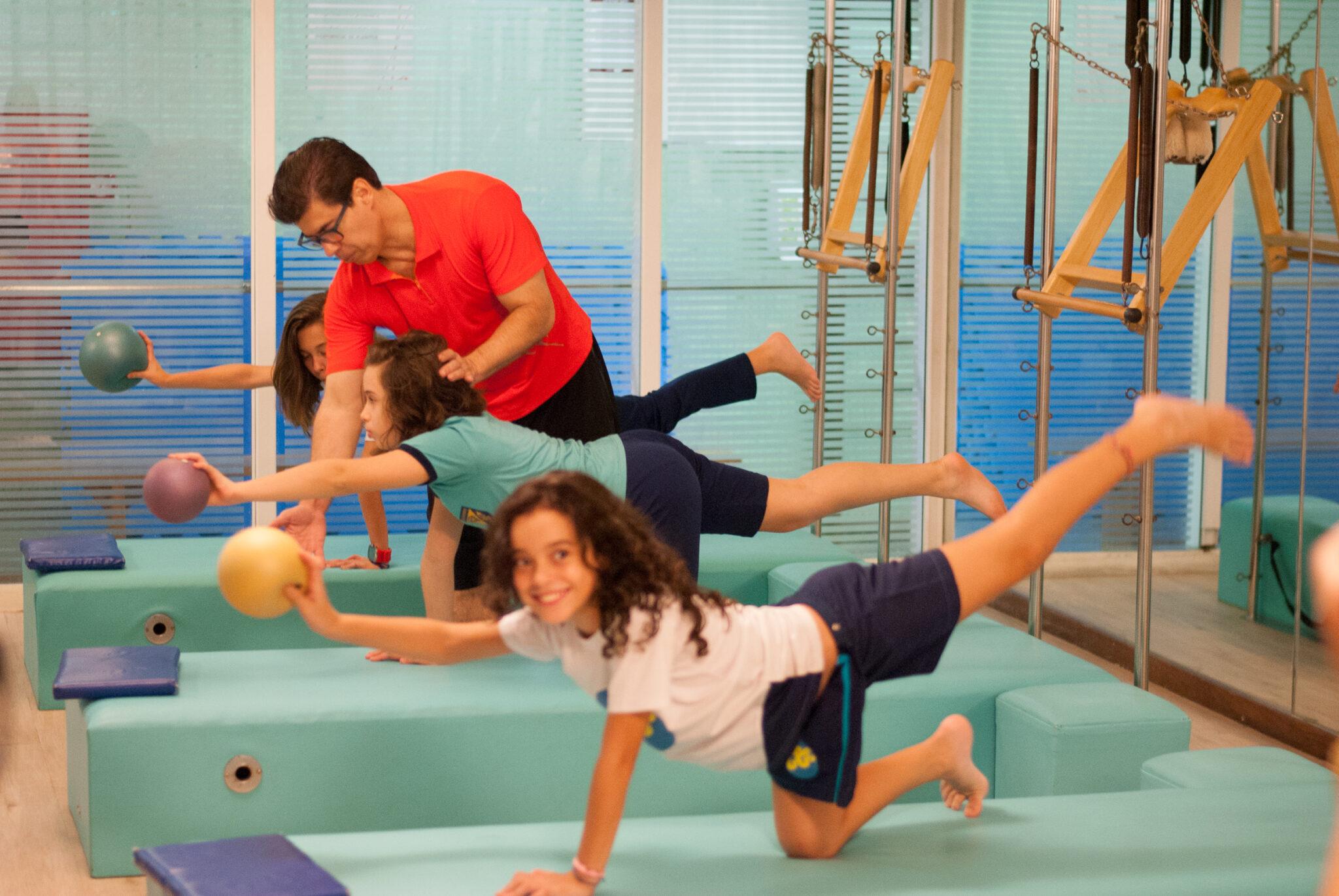 pilates crianças