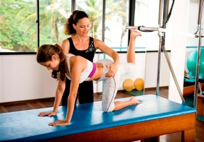 pilates criança