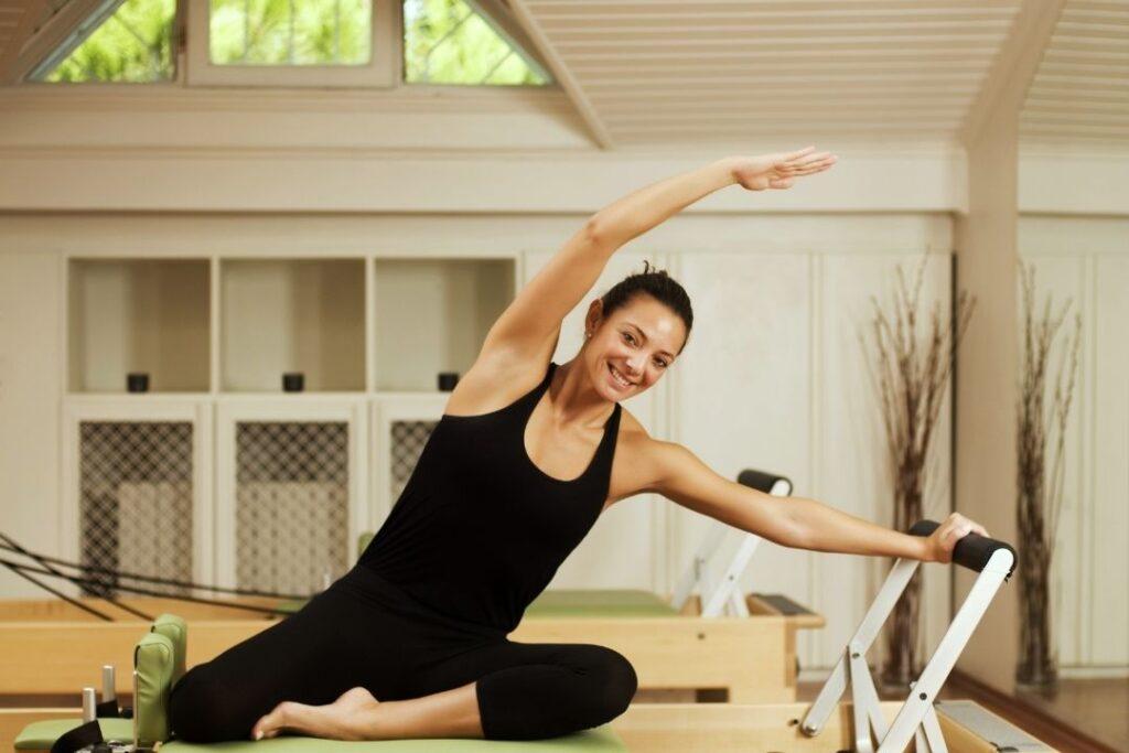pilates postura